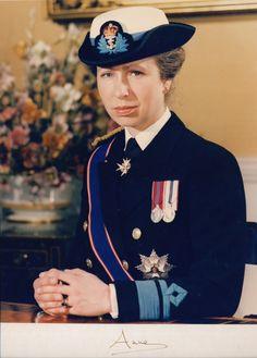 royalwatcher:  The Princess Royal in uniform