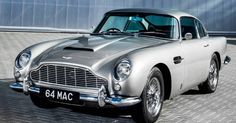 Bonhams sold two cars owned by former Beatles, Paul McCartney and Ringo Starr. One was McCartney's old Aston Martin and the other was Starr's old Mini. Vintage Sports Cars, British Sports Cars, Classic Sports Cars, Retro Cars, Vintage Cars, Classic Cars, Aston Martin Db5, Paul Mccartney, Maserati