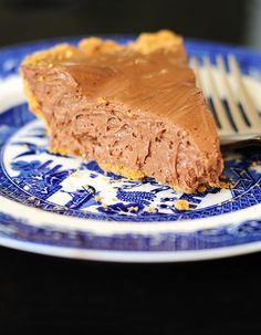 Chocolate Candy Bar Pie Recipe | She Wears Many Hats ... My friend Jen makes in the summer, and it is delish.