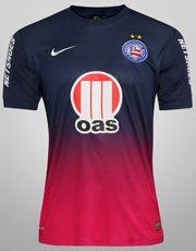 Camisa Nike Bahia III 2013 s/nº - c/ Patrocínio