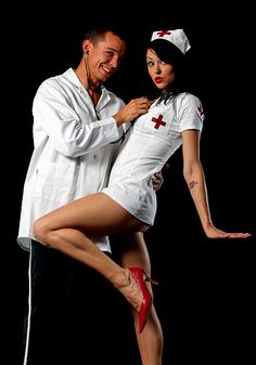 halloween doctor and nurse
