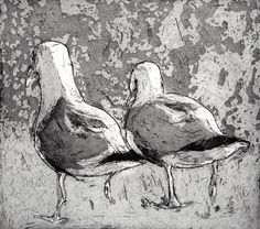 Twitter / meithealeitseal: Etching by Michael Flaherty ...
