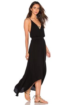 Young, Fabulous & Broke Evie Maxi Dress in Black