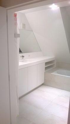 Loft Bathroom, Bathroom Inspo, Small Bathroom, Master Bathroom, Bedroom With Bath, Bedroom Loft, Bathroom Design Inspiration, Interior Inspiration, Built In Bath