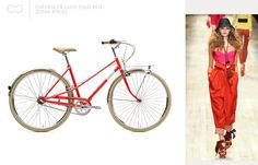 Caferacer lady solo red / Sonia Rykiel