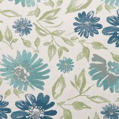 Sunbrella Violetta Baltic 45760-0002 Indoor / Outdoor Upholstery Fabric