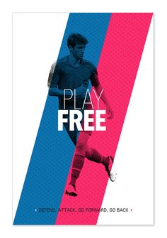 Play like a football master on Behance