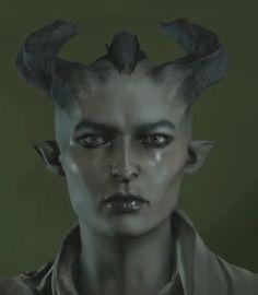 female qunari inquisitor
