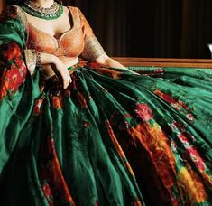 Lehenga Color Combinations, Mehndi Outfit, Lehenga Skirt, Groom Outfit, Embroidered Blouse, Summer Collection, Ball Gowns, Bride, Formal Dresses