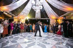 Dança dos noivos - Casamento rústico-chique