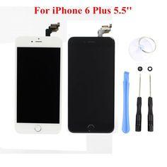 รีวิว สินค้า Replacement For iPhone 6 Plus 5.5'' LCD Touch Screen Display Digitizer Assembly (Black) ⚾ แนะนำซื้อ Replacement For iPhone 6 Plus 5.5'' LCD Touch Screen Display Digitizer Assembly (Black) ประสบการณ์ | partnerReplacement For iPhone 6 Plus 5.5'' LCD Touch Screen Display Digitizer Assembly (Black)  รายละเอียดเพิ่มเติม : http://online.thprice.us/zFY57    คุณกำลังต้องการ Replacement For iPhone 6 Plus 5.5'' LCD Touch Screen Display Digitizer Assembly (Black) เพื่อช่วยแก้ไขปัญหา…