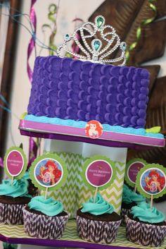 Dicas de Festas infantis : FESTA PEQUENA SEREIA