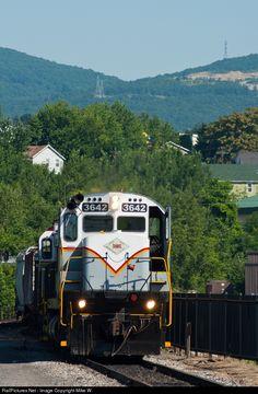 RailPictures.Net Photo: DL 3642 Delaware Lackawanna Alco C636 at Scranton, Pennsylvania by Mike W.