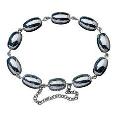 Kalevala Koru / Kalevala Jewelry / Halikon rannekoru / Halikko bracelet / Material: silver
