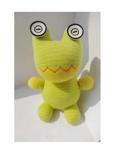 GREEN SOCKS Toy Frog i