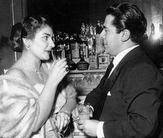 Maria Callas with Giuseppe di Stefano, 1953.