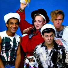 Culture Club, best band ever! 80s Pop Music, Good Music, Boy George, Club Poster, Cyndi Lauper, New Romantics, The Monkees, Culture Club, Retro Pop