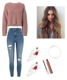 """Untitled #67"" by haileymagana on Polyvore featuring rag & bone, River Island, adidas, M&J Trimming, Astley Clarke and Maybelline"