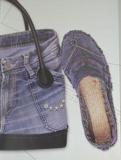 Flip Flop Schuhe Denim Espadrilles Espadrille Shoes Flipflops Shoe Makeover Shoes With Jeans Denim Shoes Denim Art Embroidered Jeans Espadrilles, Espadrille Shoes, Diy Jeans, Shoe Makeover, Diy Clothes Videos, Barefoot Shoes, Denim Crafts, Denim Shoes, Felted Slippers