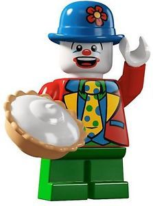 Takara Lego Minifigures S5 Action figure Small Clown Pie Laugh Funny
