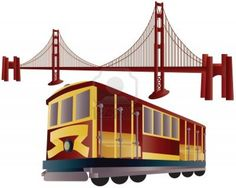 13370032-san-francisco-cable-car-trolley-and-golden-gate-bridge-illustration.jpg (1200×960)