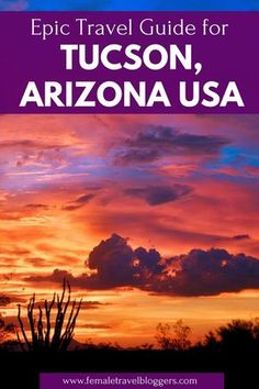 Are you planning a trip to Tucson, Arizona? If so, you have to check out this travel guide for Tucson that includes where to eat in Tucson, things to do in Tucson, where to stay in Tucson, and more. Go check out these Tucson, Arizona tips and save it to y