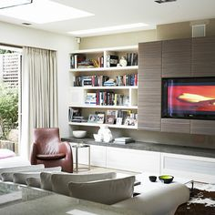 classic details in the recessed pellet and media unit