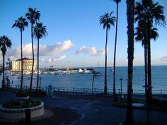 Catalina Island looking towards the casino