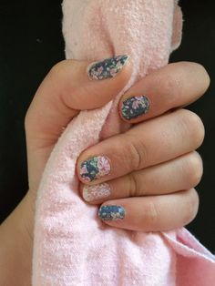 Jamberry Dusty Floral and Damask