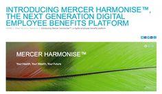 Mercer launches Mercer Harmonise, a next generation digital employee benefits platform | simply communicate