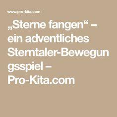 """""""Sterne fangen"""" – ein adventliches Sterntaler-Bewegungsspiel – Pro-Kita.com"""