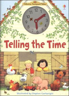 Telling the Time - Usborne Farmyard Tales | Main photo (Cover)