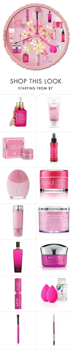 """""""Time for Skin Care"""" by emjule ❤ liked on Polyvore featuring beauty, Estée Lauder, Weleda, GlamGlow, FOREO, Rodial, Lancôme, Peter Thomas Roth, Victoria's Secret and Lancer Dermatology"""