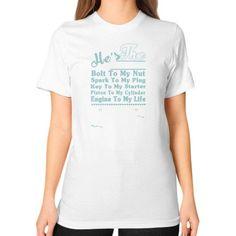 Last change Unisex T-Shirt (on woman)