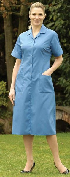 Harpoon SFD Stud Front Step In Dress - Nurses and Healthcare Uniforms - Uniforms - Best Workwear
