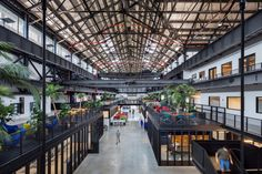 Heres every Building of the Day tour for Archtober 2017. Pictured here: Marvel Architects New-Lab at the Brooklyn Navy Yard. (David Sundberg/Esto)