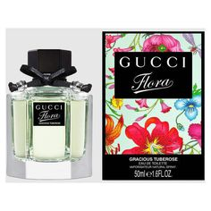 Gucci Flora Gracious Tuberose 50Ml Eau De Toilette ($69) ❤ liked on Polyvore featuring beauty products, fragrance, eau de toilette perfume, gucci fragrance, gucci, edt perfume and eau de toilette fragrance