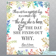 #ldsconf Wixom quoting Cannon (an adaptation of a Mark Twain quote?) - Free Printable from BitsyCreations