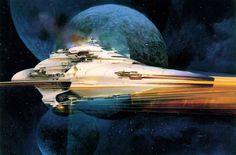 John Berkey's space art makes me nostalgic for a future that never was