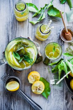 Green Tea Mint Lemon