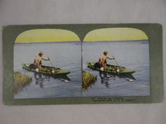 1903 Color Stereo Card View No. 461 Ingersoll by SecondWindShop, $10.00