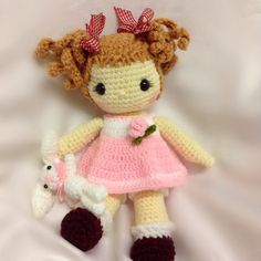 Crochet sweet doll