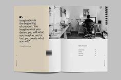 Kreatype Portfolio ~ Brochure Templates ~ Creative Market  #magazine #layout #portfolio #brochure #template #templates #AD
