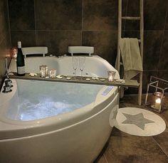 Whirlpool - Bad vierkant - Spa - indoor Jacuzzi - Bubbelbad - MONACO ...