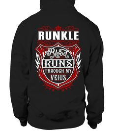 RUNKLE Blood Runs Through My Veins