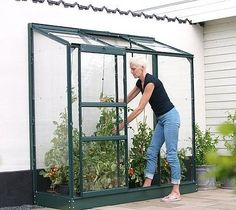 Vitavia Ida Lean To 1300 Green 6x2 Greenhouse £248.99  http://www.greenhousestores.co.uk/Lean-To-Greenhouses/