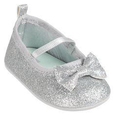 Glitter Mary Jane | Baby Girl Shoes & Slippers As much as I am anti-all things girly, these are really cute.
