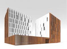 Восточный фасад. Ставни открыты © Сергей Скуратов ARCHITECTS