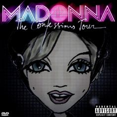 MADONNA - THE CONFESSION TOUR DVD Cover by madonna toonx, via Flickr