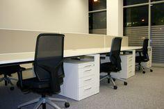 Großraumbüro by kühnle'waiko #office #furniture #workspace #interior #design #acoustic
